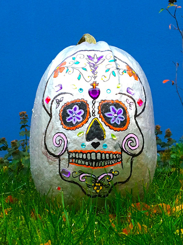 Mexicansk halloween græskarhoved