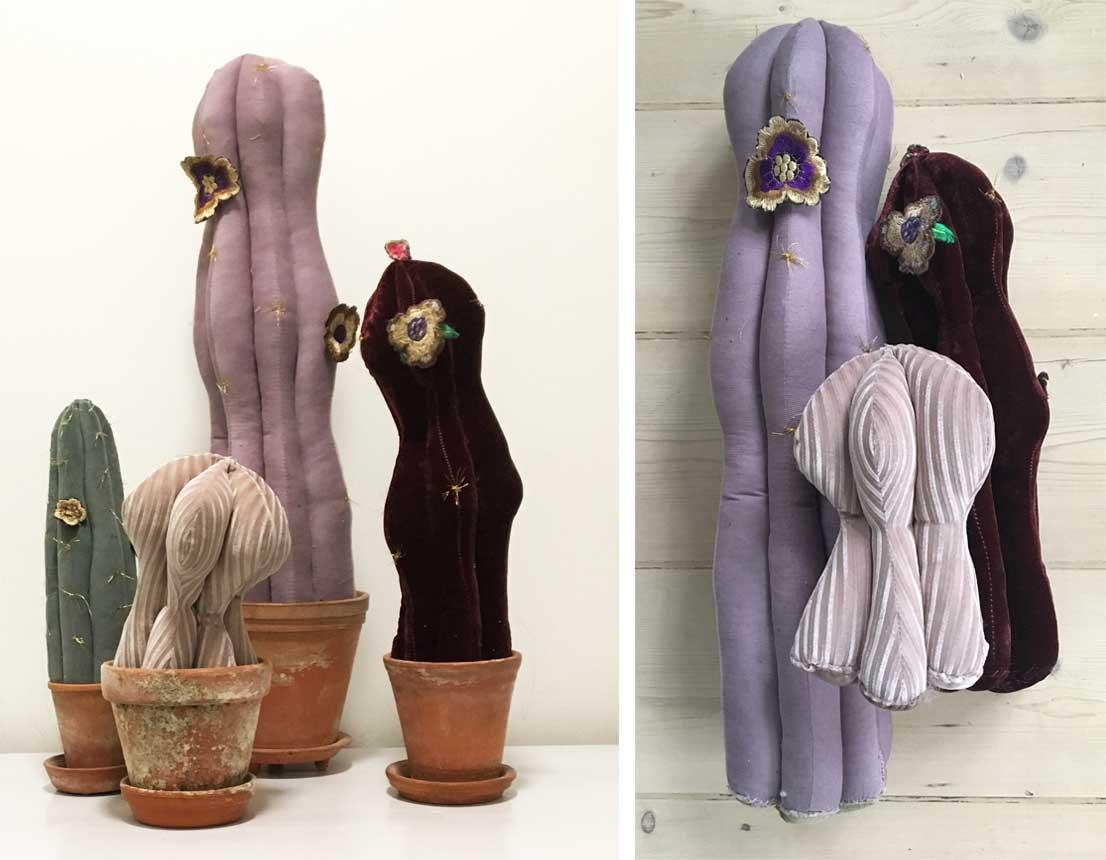 Velour og fløjl kaktusser